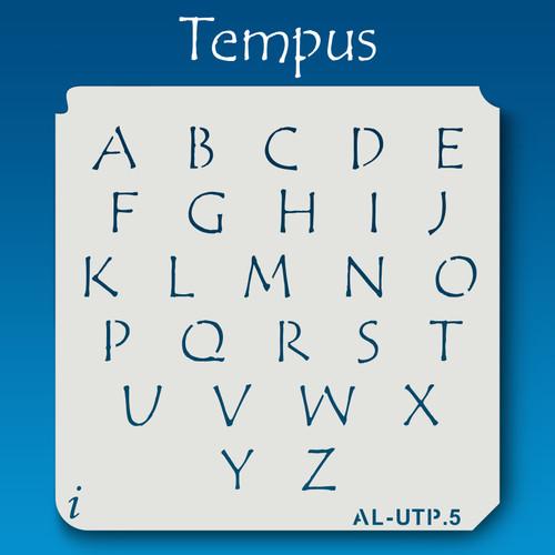 AL-UTP Tempus - Alphabet Stencil Uppercase