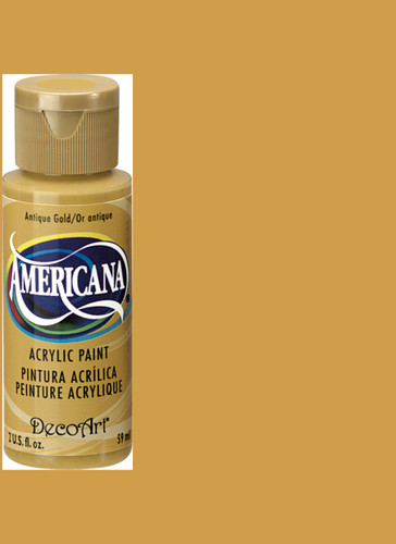 Antique Gold - Acrylic Paint (2oz.)