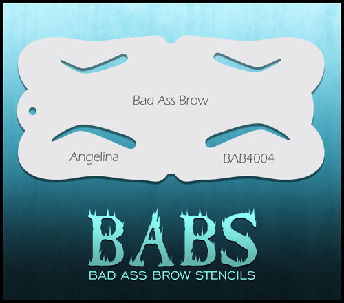 BB-BAB 4004 Angelina eyebrow stencil