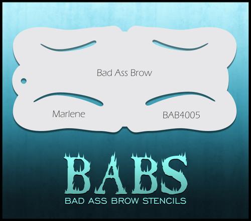 BB-BAB 4005 Marlene eyebrow stencil