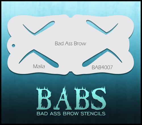 BB-BAB 4007 Maila eyebrow stencil