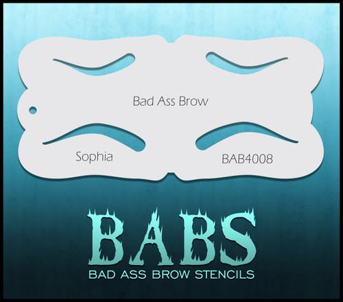 BB-BAB 4008 Sophia eyebrow stencil