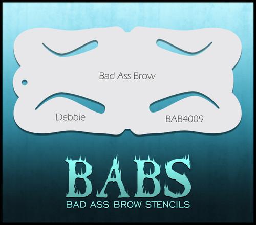 BB-BAB 4009 Debbie eyebrow stencil
