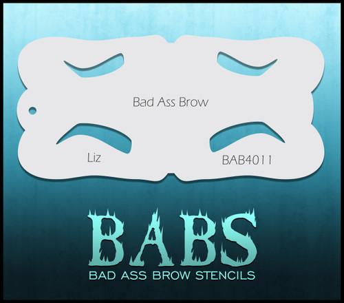 BB-BAB 4011 Liz eyebrow stencil
