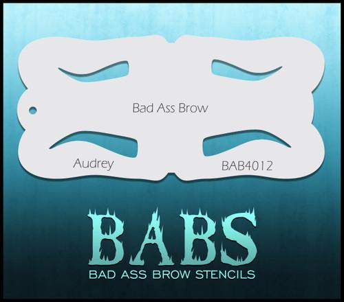 BB-BAB 4012 Audrey eyebrow stencil
