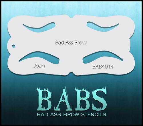 BB-BAB 4014 Joan eyebrow stencil