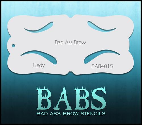 BB-BAB 4015 Hedy eyebrow stencil