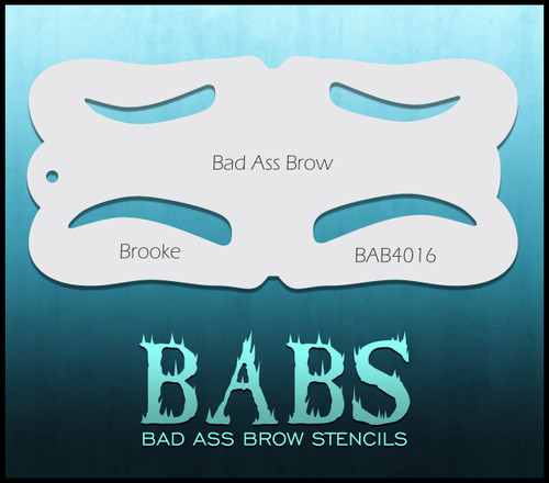 BB-BAB 4016 Brooke eyebrow stencil
