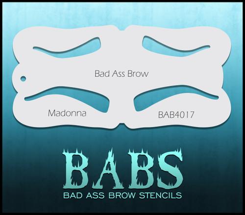 BB-BAB 4017 Madonna eyebrow stencil