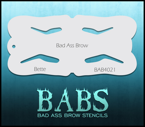 BB-BAB 4021 Bette eyebrow stencil