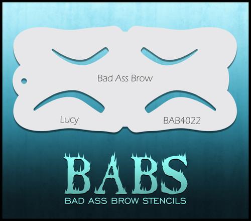 BB-BAB 4022 Lucy eyebrow stencil