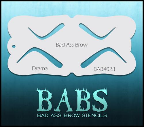 BB-BAB 4023 Drama eyebrow stencil