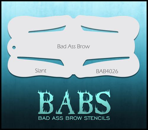BB-BAB 4026 Slant eyebrow stencil