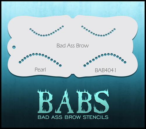 BB-BAB 4041 Pearl eyebrow stencil