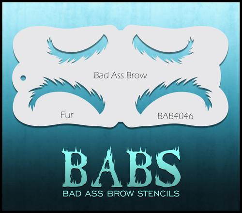 BB-BAB 4046 Fur eyebrow stencil