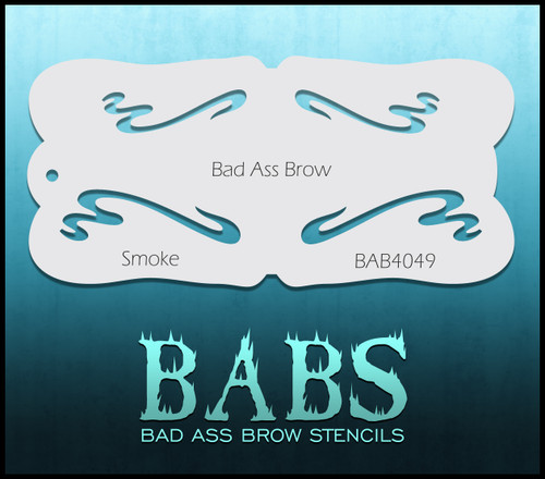 BB-BAB 4049 Smoke eyebrow stencil
