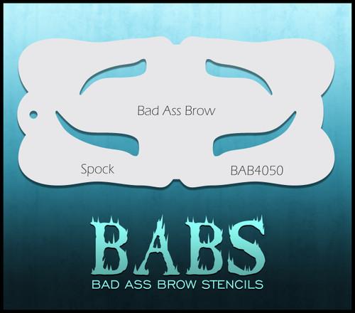 BB-BAB 4050 Spock eyebrow stencil