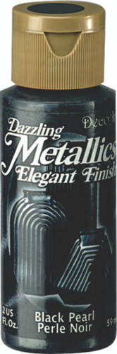 Black Pearl - Dazzling Metallic Acrylic Paint (2oz)