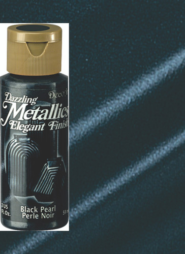 Black Pearl - Dazzling Metallic Acrylic Paint (2oz)