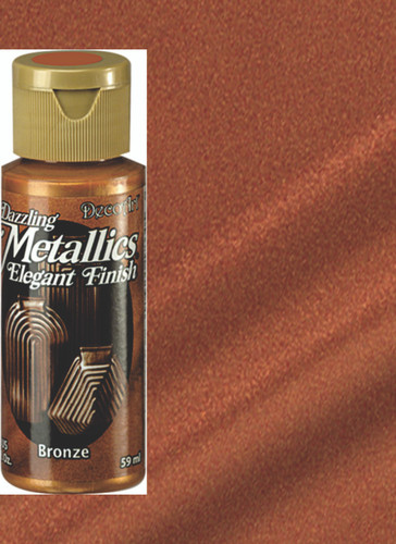 Bronze - Dazzling Metallic Acrylic Paint (2oz.)