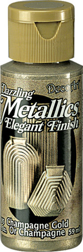 Champagne Gold - Dazzling Metallic Acrylic Paint (2oz.)
