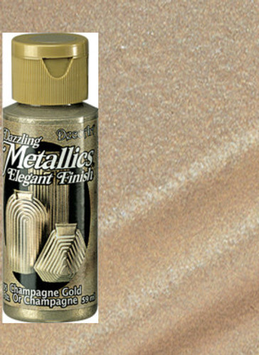 Champagne Gold - Dazzling Metallic Acrylic Paint (2oz.)