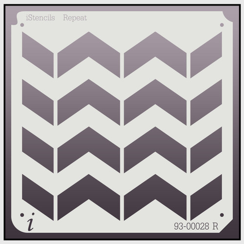 93-00028 Chevron Repeat Pattern Stencil