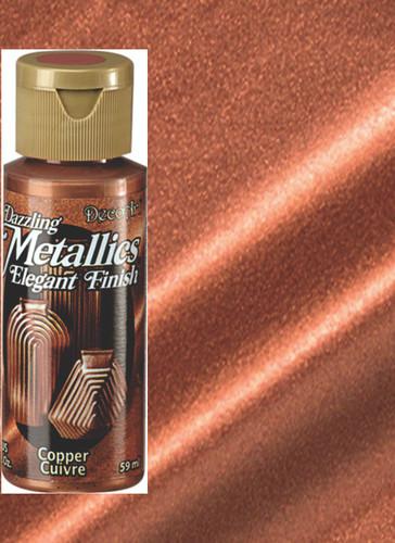 Copper - Dazzling Metallic Acrylic Paint (2oz)