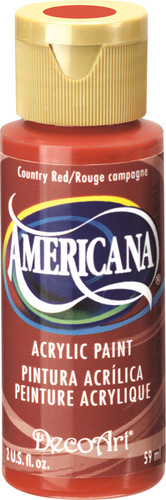 Country Red - Acrylic Paint (2oz.)