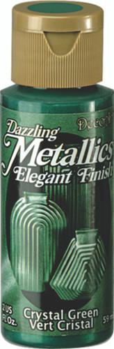 Crystal Green - Dazzling Metallic Acrylic Paint (2oz)