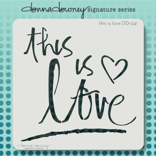 DD-041 this is love stencil