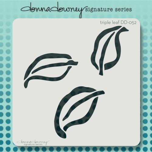 DD-052 triple leaf stencil