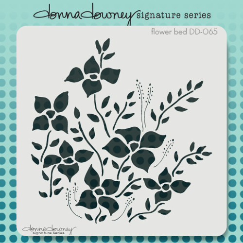 DD-065 flower bed stencil