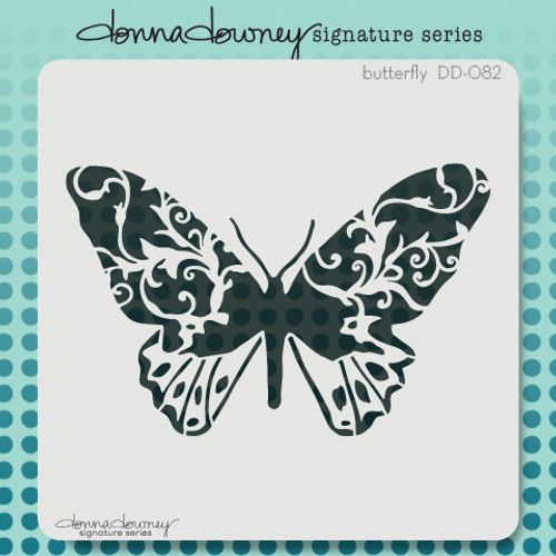 DD-082 butterfly stencil