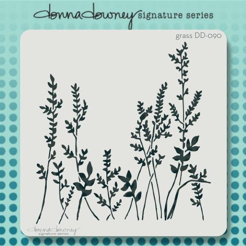 DD-090 Grass stencil