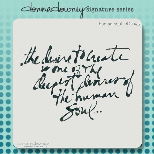 DD-095 Human Soul stencil