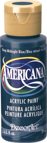 Deep Midnight Blue - Acrylic Paint (2oz.)