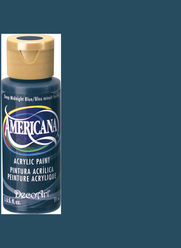 Deep Midnight Blue - Acrylic Paint (2oz.)