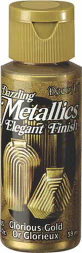 Glorious Gold - Dazzling Metallic Acrylic Paint (2oz)