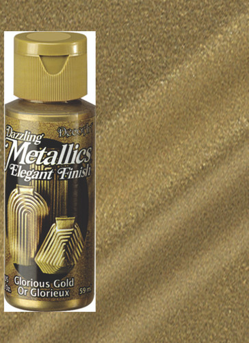 Glorious Gold - Dazzling Metallic Acrylic Paint (2oz)