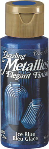 Ice Blue - Dazzling Metallic Acrylic Paint (2oz.)