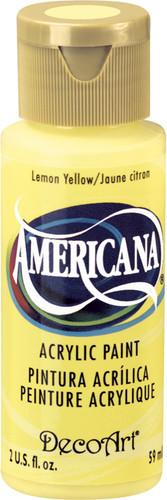 Lemon Yellow - Acrylic Paint (2oz.)