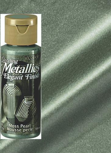Moss Pearl - Dazzling Metallic Acrylic Paint (2oz)