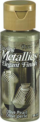 Olive Pearl - Dazzling Metallic Acrylic Paint (2oz)