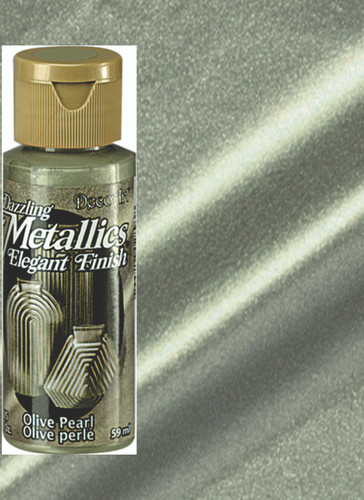 Olive Pearl - Dazzling Metallic Acrylic Paint (2oz)