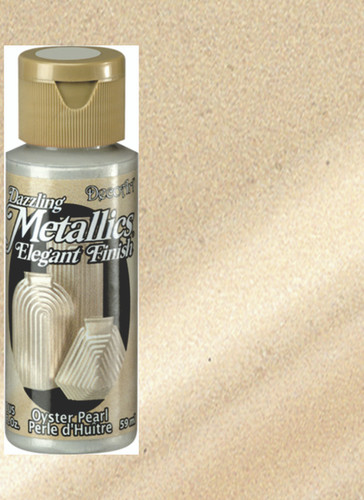 Oyster Pearl - Dazzling Metallic Acrylic Paint (2oz)