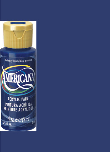 Primary Blue - Acrylic Paint (2oz.)