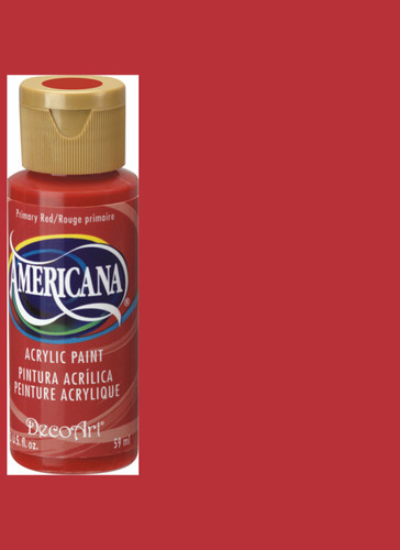 Primary Red - Acrylic Paint (2oz.)