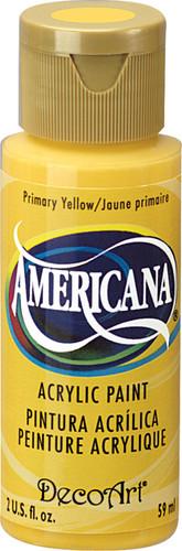 Primary Yellow - Acrylic Paint (2oz.)