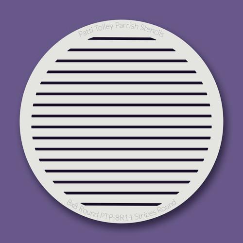 PTP-R11 stripes stencil